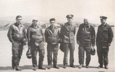 Первый слева М.Балашов третий - А.Орловский (1965г/в)