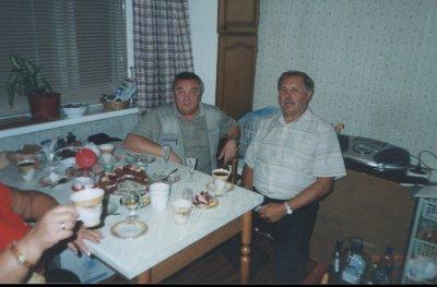 (2006г.) В.Полняков и Г.Мамалыга  ЧКАЛОВСКАЯ 1965г.в.