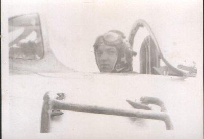 1963г.Готов в зону на пилотаж.В кабине МиГ-15бис Пол.ВМ.