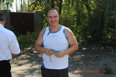Руслан Руденко (87 г.в.) подъехал поздороваться...