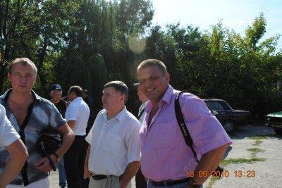 Брат Шилов, Данилыч и Тима Джибилов.
