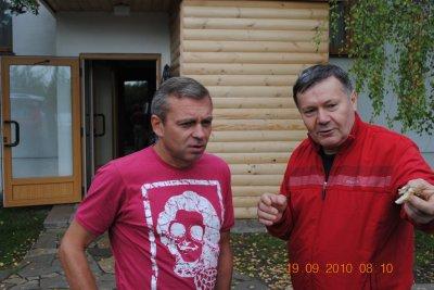 """Данилыч объясняет представителю ГТК """"Россия"""" как правильно закусить при опохмеле..."""