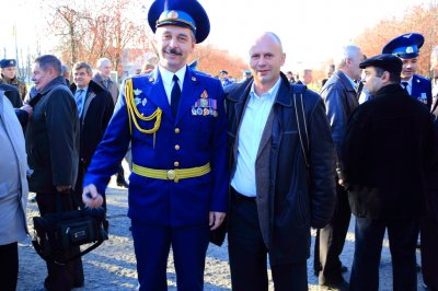 НШ бригады Андрею Лодыгину военная форма к лицу