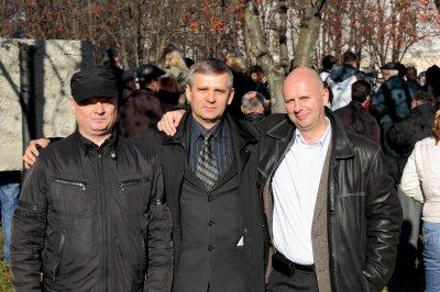 А.Милько, В.Тлустов, В.Брагинец