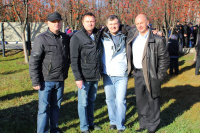 А.Милько, И.Крохов, В.Решетняк, В.Брагинец