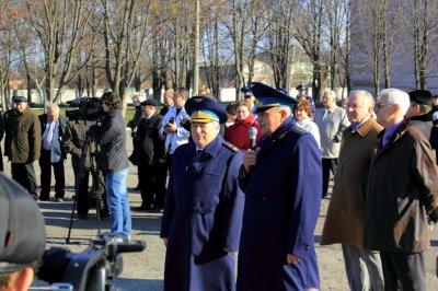 Маршал авиации Е.И.Шапошников и генерал-лейтенант С.И.Онищенко