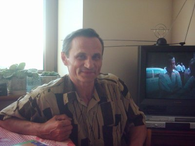 Николай Ширшов у себя дома