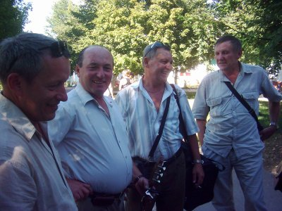 На площади Дзержинского