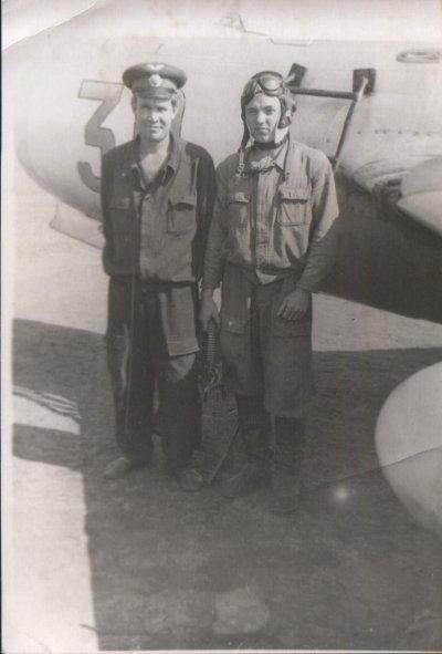1963г.Тех.с-та и В.Полняков.аэр.Левковка.