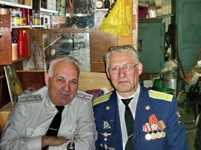 После официальной части военно-патриотической работы с заведующим ДОРА