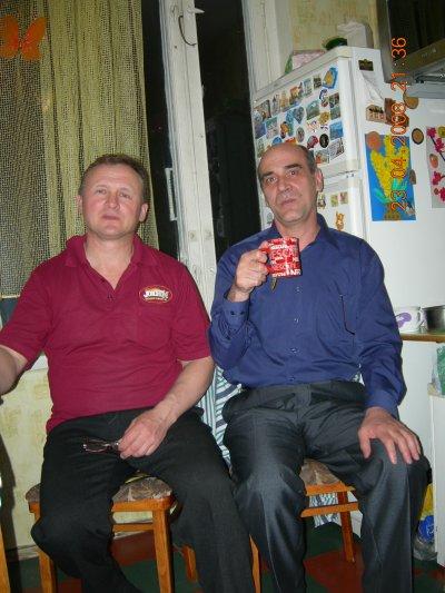 Встреча с Иваном Присяжным в Москве в апреле 2008 года